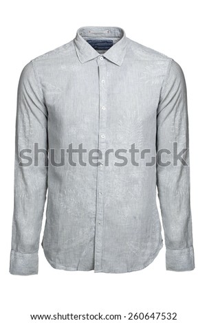 blue  shirt isolated