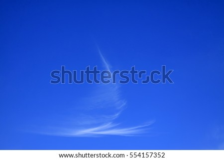 blue sky and white clouds sunny, closeup of photo