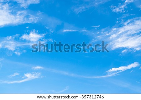 blue sky background - stock photo