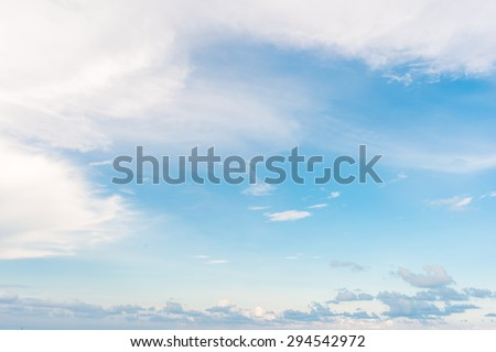 blue sky background with tiny clouds, Sky clouds background