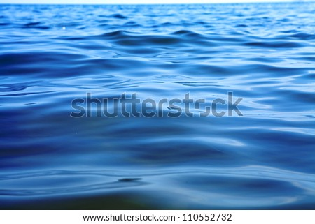 Blue sky,sun and sea - stock photo