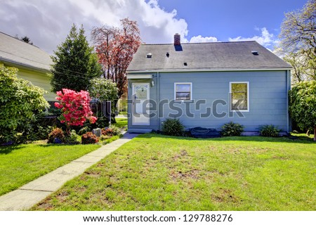 Marvelous Small House Stock Images Royalty Free Images Vectors Shutterstock Largest Home Design Picture Inspirations Pitcheantrous