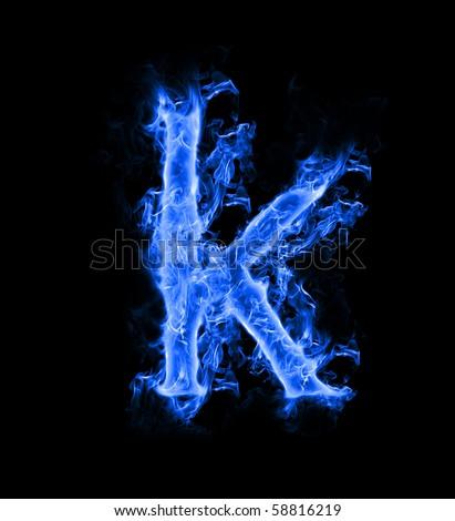 blue smoke letter k stock photo 58816219 - shutterstock