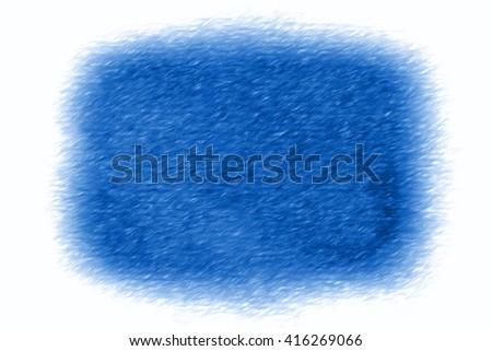 blue spot fading into white  -  illustration - stock photo