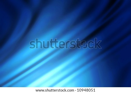 blue striped background - stock photo