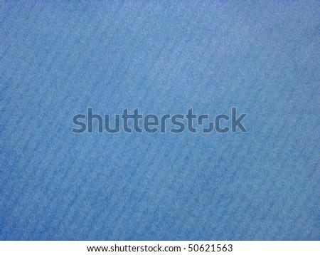 blue striped paper - stock photo