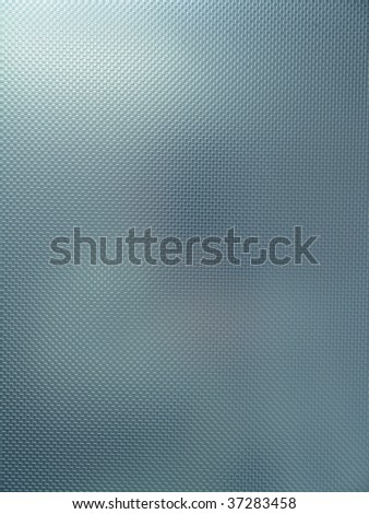 Blue Techno Metal Background - stock photo