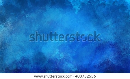 blue textured background paint - stock photo