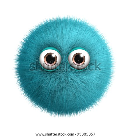 blue toy - stock photo