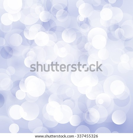 Blue Violet Soft  Bright Abstract Bokeh Background , Soft Glow of the Sun , Defocused Lights