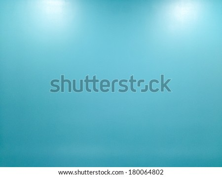 Blue wall texture for background  - stock photo
