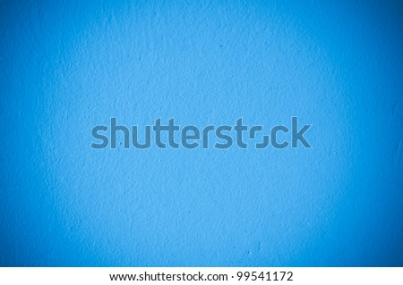 Blue wall texture for background usage - stock photo