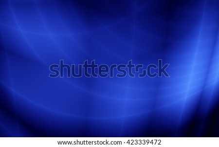 Blue wallpaper abstract magic card graphic design - stock photo