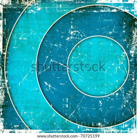 Blue water abstract background - stock photo