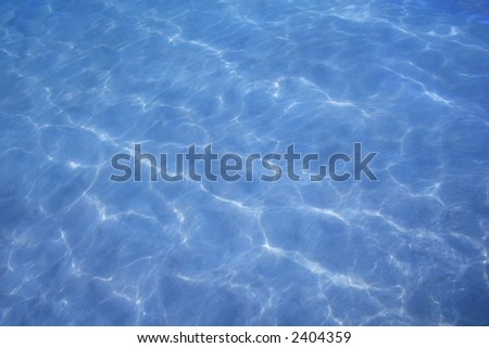 Blue water background - clean and fresh - stock photo