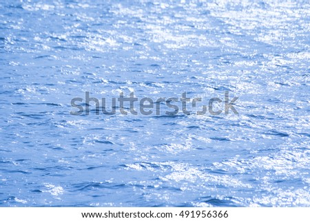 Blue water wave texture background