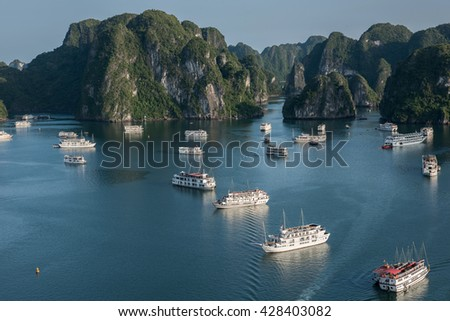 Blue Waters on Ha Long Bay