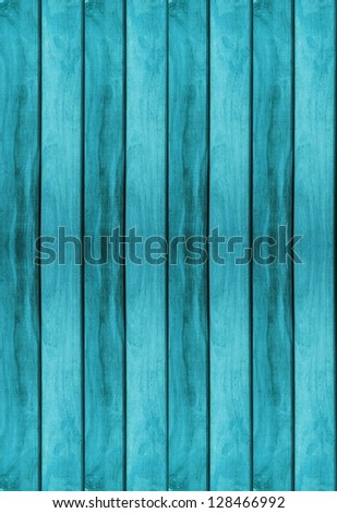 blue wood texture use for background - stock photo