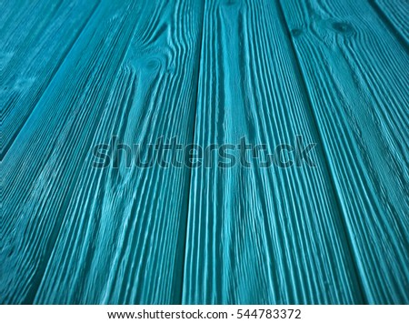 Blue Wooden Background, Grunge Texture Sample