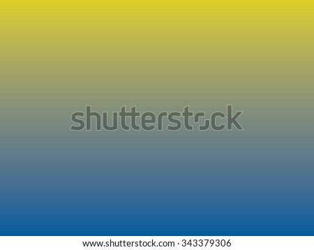 Blue yellow gradient background - stock photo