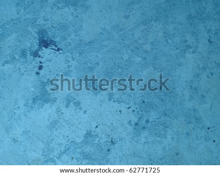 Bluesea exposed concrete wall texture - stock photo
