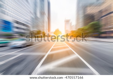 blur abstract city background
