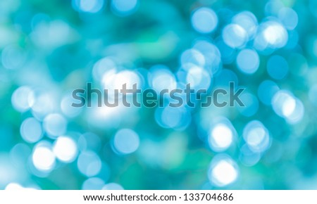 Blur bokeh abtract light background - stock photo