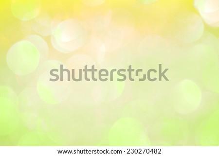 blur bokeh summer color background - stock photo