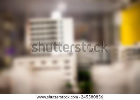 blur Building - stock photo