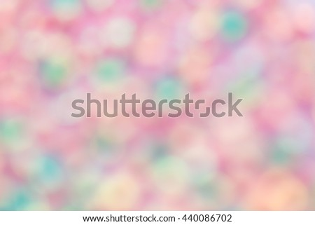 Blur colorful background,sweet background.bokeh background design for card background - stock photo
