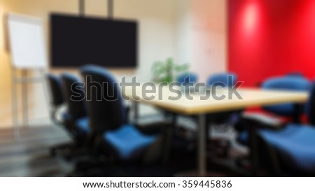 Conference Meeting Room Ceiling Led Lights Stock Photo - Conference room table and chairs clip art