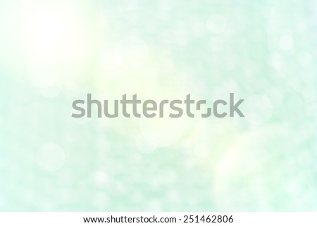 Blur green Background of Air bubble wrap foil welcome to valentine day  - stock photo