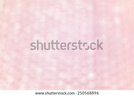 Blur pink Background of Air bubble wrap foil  - stock photo