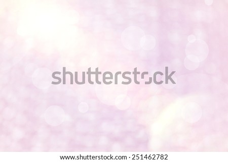 Blur pink Background of Air bubble wrap foil welcome to valentine day  - stock photo