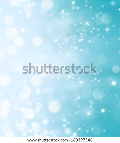 Blur shimmering abstract background in Christmas mood - stock photo