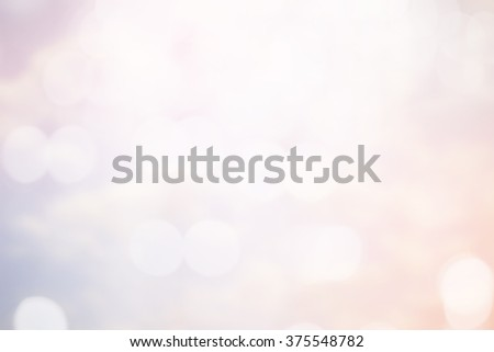 Blur shining brighten soft cream pink vintage wallpaper with circle lantern:abstract blurred background in light tone.blurry bulbs ball motion of white colorful backdrop.blurry sparkle glitter concept - stock photo