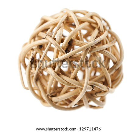blur wooden node ball