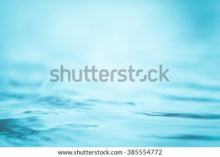 Blurred abstract background wavy clean fresh water in cool cyan turquoise blue green vintage color tone: Blurry peaceful aqua soft pattern conceptual textured backdrop: Save environment: Spa concept - stock photo