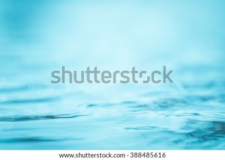 Blurred abstract background wavy clean fresh water in light cool cyan turquoise blue green vintage color tone: Blurry peaceful aqua soft pattern conceptual textured backdrop: Save environment concept - stock photo