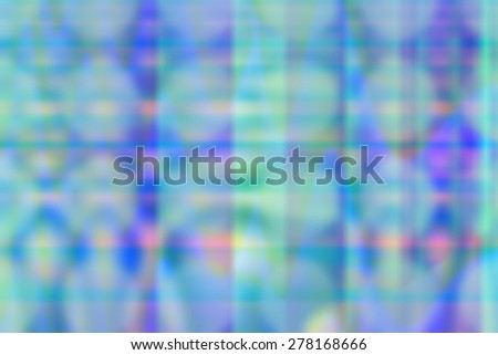 Blurred background in blue and turquoise colors - stock photo