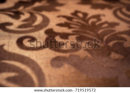 blurred background of fabric