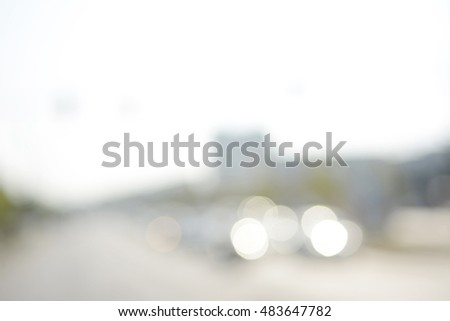 blurred background, twinkling lights