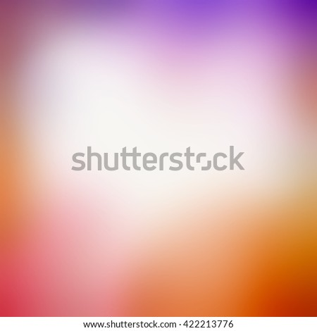 blurred background with smooth texture and bright colors of purple pink red and orange - stock photo