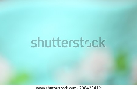 blurred blue background - stock photo