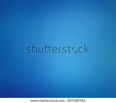 blurred blue background with dark blue gradient borders - stock photo