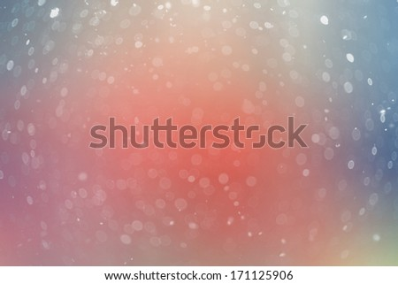blurred glowing background snow - stock photo