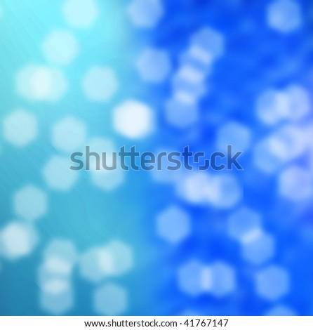 blurred lens image underwater - stock photo