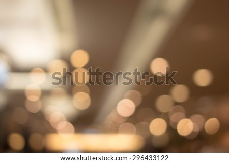 blurred light in warm tone backgrounds,out of focused concept. - stock photo
