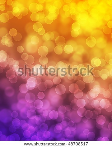 Blurred lights effect background - stock photo