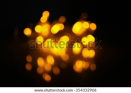 Blurred of bokeh with soft focus for background.